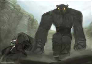 Shadow_of_the_Colossus__Battle_by_AAAGH